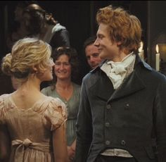 Mr Bingley and Miss Jane Bennet dancing