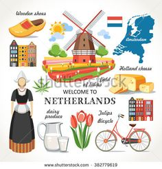 Find netherlands stock images in HD and millions of other royalty-free stock photos, illustrations and vectors in the Shutterstock collection. Thousands of new, high-quality pictures added every day. Learn French, Learn English, Bullet Journal Halloween, Preschool Charts, Amsterdam Map, Map Quilt, Geography For Kids, Kids Around The World, Travel Scrapbook