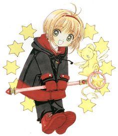 First appearance: Back cover of Cardcaptor Sakura (KCDX) Vol. Cardcaptor Sakura, Syaoran, Chibi, Kawaii Anime, Pokemon Show, Otaku, Manga Artist, Manga Characters, Cultura Pop