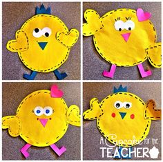 CUTE spring chick craft!