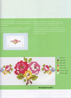 Thrilling Designing Your Own Cross Stitch Embroidery Patterns Ideas. Exhilarating Designing Your Own Cross Stitch Embroidery Patterns Ideas. 123 Cross Stitch, Cross Stitch Boards, Cross Stitch Alphabet, Cross Stitch Flowers, Cross Stitching, Cross Stitch Embroidery, Embroidery Patterns, Cross Stitch Patterns, Tapestry Crochet