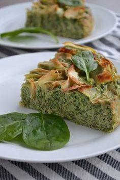 Koken zonder suiker, en dus zonder pakjes en zakjes, klinkt misschien als veel werk, maar deze spinazie ricotta taart bewijst het tegendeel. Heerlijk!
