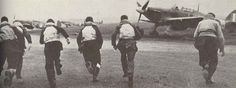 Hurricane pilots 'scramble' on Eagle Day