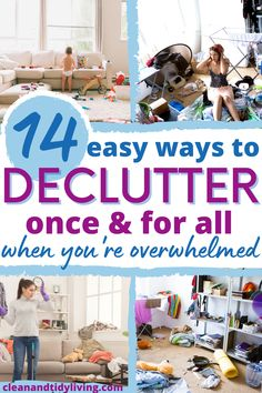 The benefits of a clutter-free home completely outweigh a cluttered home; leaving no room for excuses. So before you leave it any longer, it's time to get started and begin your journey towards a clutter-free home. Use these tips on how to quickly declutter your home and make it a clutter-free zone once and for all. Declutter Your Home, Organize Your Life, Organizing Your Home, Home Organisation Tips, Organization Hacks, Clutter Free Home, Flylady, Homemaking, Clean House