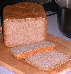 This loaf which is particularly suitable for the Panasonic SD-255 bread machine, can also be made in other machines, so long as you follow your