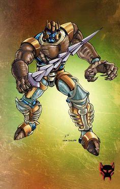 Transformers Beast Wars Dinobot.