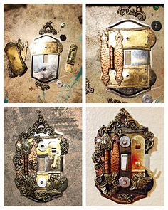 Dyi light cover Steampunk