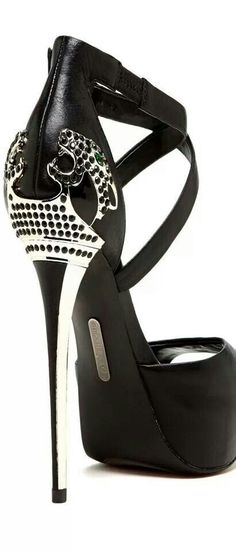 Metal Heel Platform Sandal... ~<3~