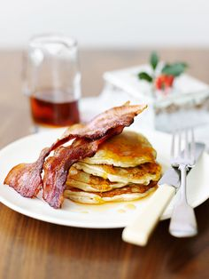 Rachel Allen's American-style pancakes recipe is ideal for a special breakfast or brunch.