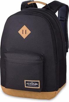 092cdf08ff1d7 JungenKinderMädchenKinder Dakine Rucksack mit 15-Zoll Laptopfach DETAIL  Black schwarz