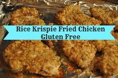 Gluten Free Rice Krispie Fried Chicken Recipe #glutenfree via @ClassyMommy