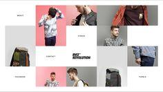 RVLT revolution- rvlt.com Web Design, Fashion Websites, Revolution, Digital, Style, Swag, Design Web, Website Designs, Outfits