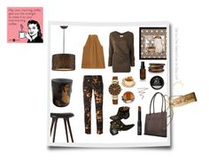 """""""Can't stop thinking about my cuppa coffee"""" by onenakedewe ❤ liked on Polyvore featuring Bobbi Brown Cosmetics, Solo, mater, Étoile Isabel Marant, Diane Von Furstenberg, Chloé, NEST Jewelry, Anne Klein, Ice and NARS Cosmetics"""