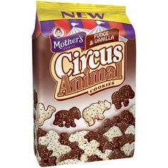 Mother's, Fudge & Vanilla Circus Animal Cookies, 12oz Bag (Pack of 4) by Mother's, http://www.amazon.com/dp/B00BQSOU4W/ref=cm_sw_r_pi_dp_Gh8Urb0T3BQCP