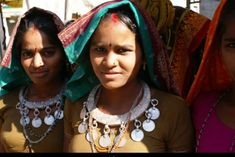 These woman are from the Andh tribe in the state of Andhra Pradesh, India