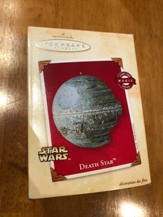 Star Wars Death Star ornament Obtained at estate sale Hallmark Christmas, Father Christmas, Star Magic, Star Decorations, Star Ornament, Death Star, Star Wars, Stars, Papa Noel