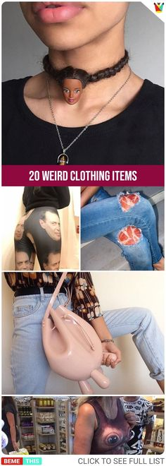 20 Clothing Items That are Too Weird to Handle #clothing #fashionfails #funnyfashion #bizarre #humor #photos #funnypictures #bemethis