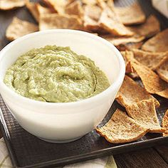 For a fresh take on hummus, try lima beans in place of chickpeas. Serve with toasted pita chips or sliced vegetables as a snack, dinner appetizer or starter at your next cocktail party.