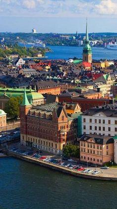 Stockholm, Sweden.  Someday I'm going to go here. Visit Stockholm, Stockholm Food, Stockholm Winter, Stockholm Old Town, Stockholm Travel, Wonders Of The World, Find Food, Travel Destinations, Gotland