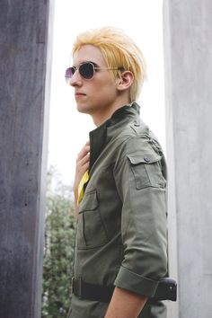 Kazuhira Miller from Metal Gear Solid: Peace Walker Photoedition: Andrea A.
