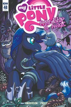 My cover for MLP Did this like a year ago. Get it November My Little Pony: FiM cover Celestia And Luna, My Little Pony Cartoon, Nightmare Moon, Mlp Comics, My Little Pony Merchandise, Little Poney, Imagenes My Little Pony, Princess Luna, Magazines For Kids