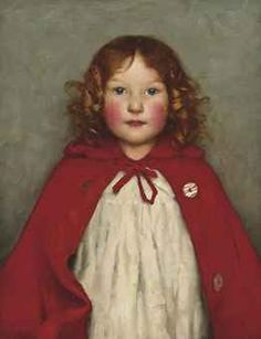 Ruby - Thomas Cooper Gotch (1854 - 1931) Dante Gabriel Rossetti, John Everett Millais, Portraits, Portrait Art, Painting Of Girl, Painting & Drawing, William Morris, Art Thomas, Pre Raphaelite
