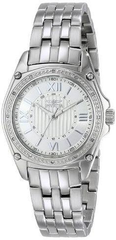 "Invicta Women's 16321 ""ANGEL"" Diamond-Accented Stainless Steel Bracelet Watch Invicta http://www.amazon.com/dp/B00J081DJ0/ref=cm_sw_r_pi_dp_eG8rvb1MJBRJ3"