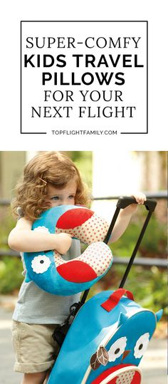 Want your child to sleep on the plane? Make sure you get them one of these child-sized kids travel pillows before your flight.