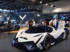 Devel claims it has 12.3-liter V16 producing 5,000-hp and a top speed of 350 mph.