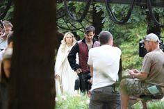 "Colin O'Donoghue and Jennifer Morrison  - Behind the scenes - 5 * 4 ""Broken Kingdom "" - 17 August 2015"