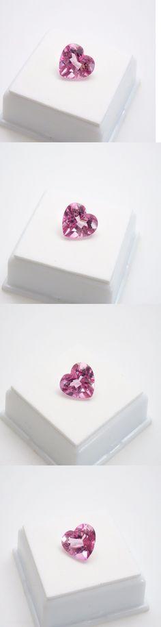 Topaz 10270: Pink Topaz - Heart - 6.20Ct - 11.90Mm - Pink Topaz Loose Gemstone -> BUY IT NOW ONLY: $39.99 on eBay!