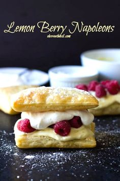 Lemon Berry Napoleons | 18 Easy And Inexpensive Desserts You Can Make With Puff Pastry