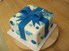 present birthday cake - Google Search