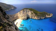Бухта Навайо Navagio Beach, остров Закинф, Греция | Colors.life