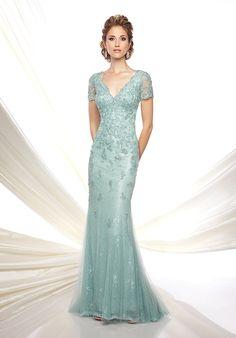 Buy the Ivonne D by Mon Cheri 116D32 Dress at CoutureCandy.com, the Largest Collection of Mon Cheri Dresses Online!