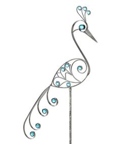 Another great find on #zulily! Pewter Bird Filigree Garden Stake #zulilyfinds