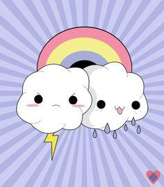 kwaii | Kawaii Clouds - Kawaii! Picture