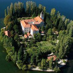 Visovac Monastery, Croatia