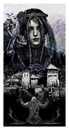 Iris Von Evrec The Witcher 3 heart of stone