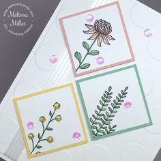 Mel's Card Corner | Flowering Fields