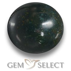 GemSelect features this natural untreated Bloodstone from Madagascar. This Green Bloodstone weighs 10.2ct and measures 12.9 x 12.1mm in size. More Oval Cabochon Bloodstone is available on gemselect.com #birthstones #healing #jewelrystone #loosegemstones #buygems #gemstonelover #naturalgemstone #coloredgemstones #gemstones #gem #gems #gemselect #sale #shopping #gemshopping #naturalbloodstone #bloodstone #greenbloodstone #ovalgem #ovalgems #greengem #green Green Gemstones, Loose Gemstones, Natural Gemstones, Buy Gems, Gem Shop, Gemstone Colors, Shades Of Green, Stone Jewelry, Birthstones
