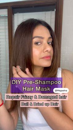 Homemade Hair Treatments, Diy Hair Treatment, Diy Hair Mask, Hair Masks, Hair Growing Tips, Healthy Hair Tips, Grow Long Hair, Curly Hair Tips, Hair Remedies