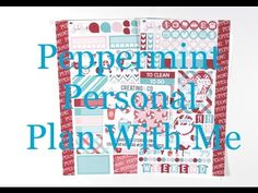 Personal Plan With Me - Peppermint
