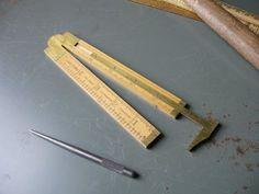 folding ruler + caliper