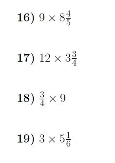 Dividing Fractions Worksheet and Notes