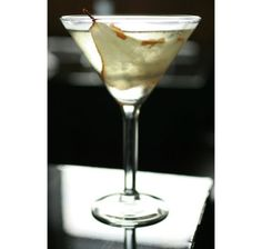 Pear'n'Ginger Martini Cocktail Recipe