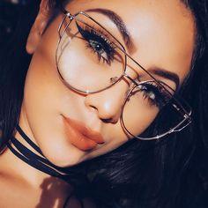 Hot 2017 Newest Cat Eye Glasses Frame Women Brand Designer Twin-Beams Metal  Eyeglasses Frame. Anteojos HipsterLentes Cat EyeMonturas ... 12223c361879