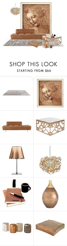 """Untitled #1113"" by mrs-rc ❤ liked on Polyvore featuring interior, interiors, interior design, home, home decor, interior decorating, CB2, OKA, Flos and Arteriors"