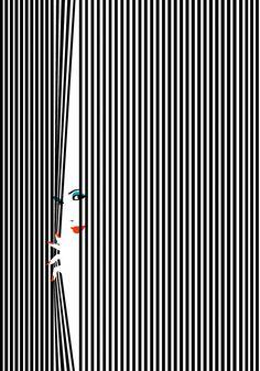 """""""Hide & Seek"""" ... by French artist Malika Afavre"""