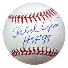 Orlando Cepeda Autographed MLB Baseball HOF 99 PSA/DNA . $49.00. This is an Official Major League Baseball that has been hand signed by Orlando Cepeda. The autograph has been authenticated by PSA/DNA and comes with their sticker and matching certificate of authenticity.